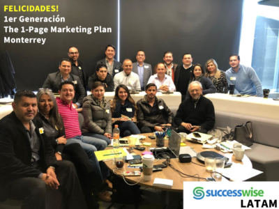 The 1-Page Marketing Plan curso presencial 30 enero 2019