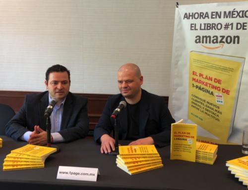 Por fin llega a México el Best Seller de Amazon The 1-Page Marketing Plan